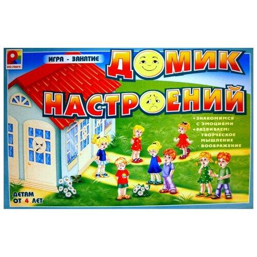 Фото - Настольная игра Радуга Домик настольная игра радуга забавные