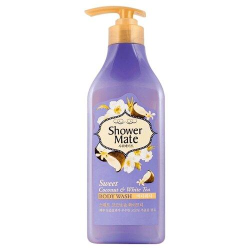 Гель для душа Shower Mate Sweet floral lace embellished waterproof shower curtain