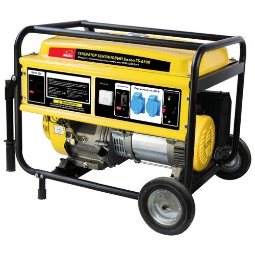 Бензиновый генератор Бизон