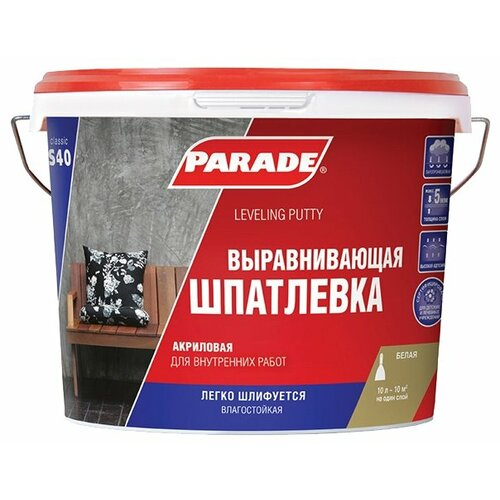 Шпатлевка Parade S40 the surrealist parade