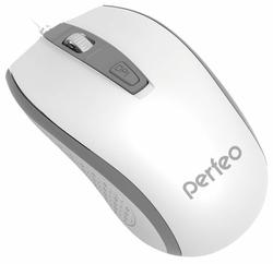 Мышь Perfeo PF-383-OP PROFIL White-Grey USB