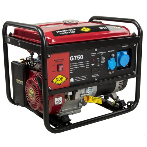 Бензиновый генератор DDE G750