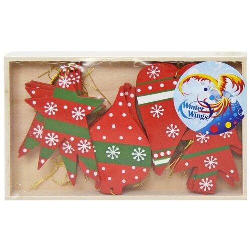 Фото - Набор елочных игрушек Winter полесье набор игрушек для песочницы 468 цвет в ассортименте