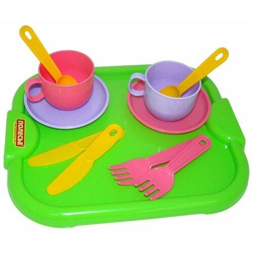 Фото - Набор посуды Полесье Минутка с полесье набор игрушек для песочницы 468 цвет в ассортименте