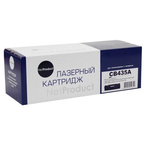 Фото - Картридж Net Product N-CB435A картридж sakura cb435a
