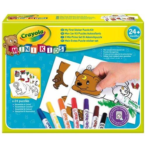 Фото - Crayola Mini Kids Набор Мой crayola набор для лепки из теста crayola мини 1