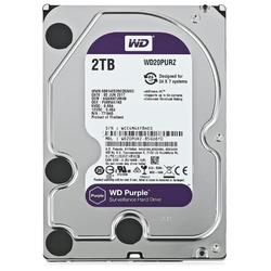 Жесткий диск Western Digital WD Purple 2 TB (WD20PURZ)
