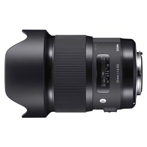 Фото - Объектив Sigma 20mm f 1.4 DG объектив