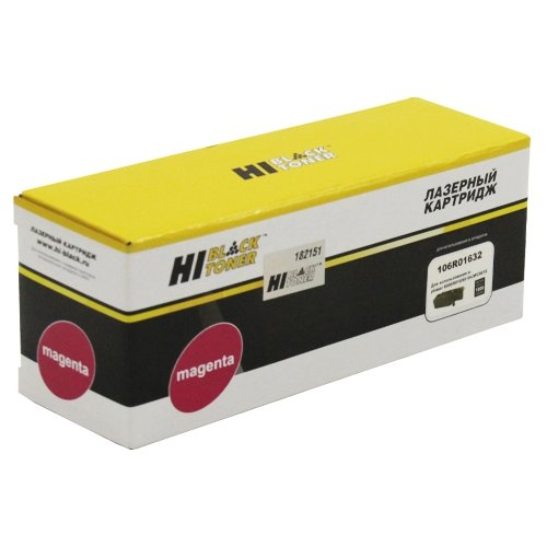 Фото - Картридж Hi-Black HB-106R01632 внешний аккумулятор pb14x black 14000 мач