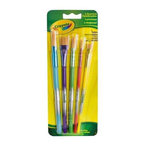 Фото - Набор кистей Crayola щетина crayola набор для лепки из теста crayola мини 1