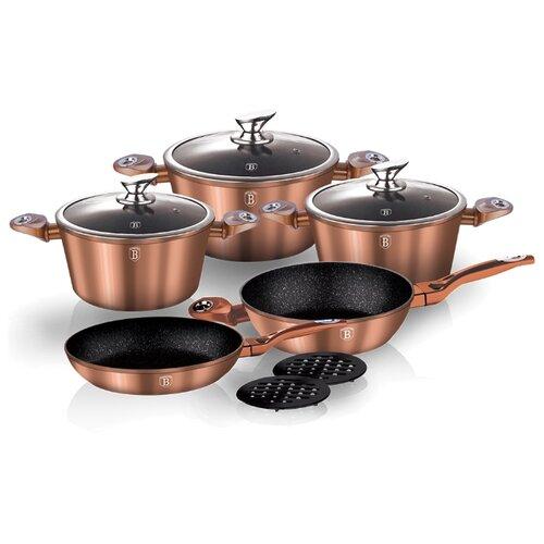 Набор посуды Berlinger Haus набор посуды berlinger haus metallic line с антипригарным покрытием цвет голубой 10 предметов
