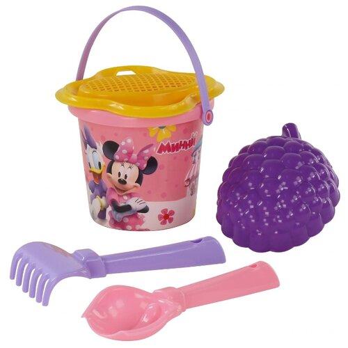 Фото - Набор Полесье Disney Минни №3 полесье набор игрушек для песочницы 468 цвет в ассортименте