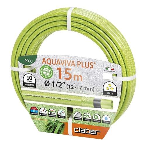 Шланг Claber Aquaviva Plus 1 2 claber aquaviva 1 2 15m 9003