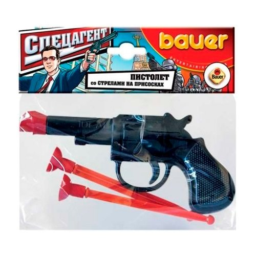 Пистолет Bauer Кроха Спецагент набор для песочницы bauer кроха