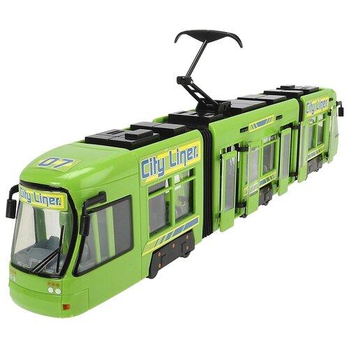 Трамвай Dickie Toys Городской машинка dickie городской поезд