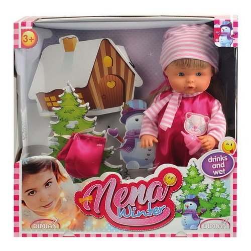 Кукла Dimian Bambolina Nena nena gießen