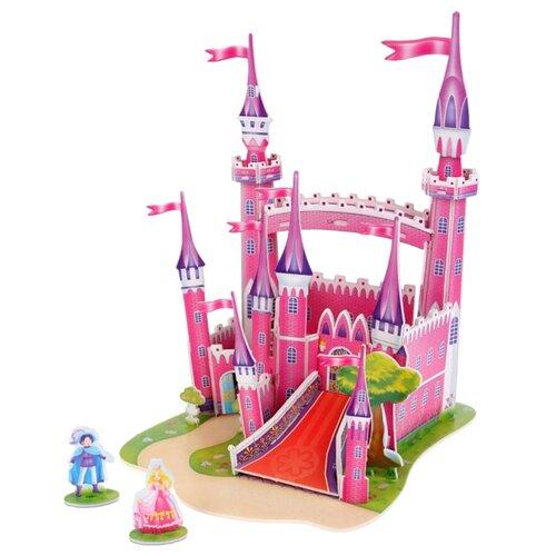 Пазл Zilipoo 3D Розовый замок пазл zilipoo пекарня 571 d 34