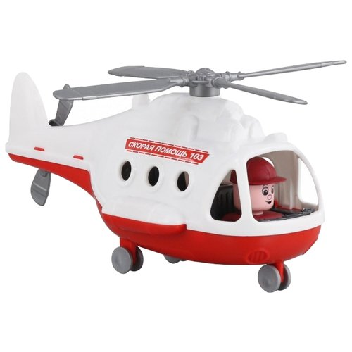 Фото - Вертолет Полесье Альфа скорая полесье набор игрушек для песочницы 468 цвет в ассортименте