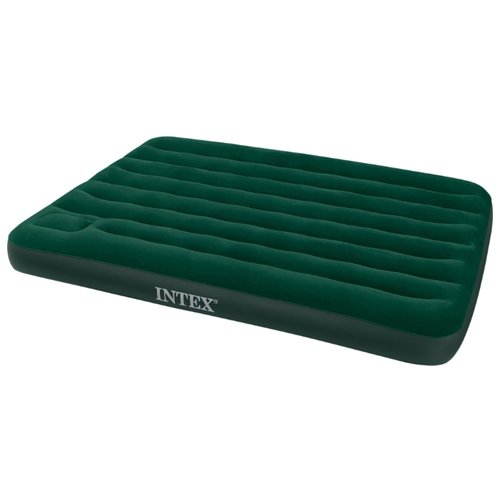 Надувной матрас Intex Downy Bed intex матрас надувной intex outdoor downy bed queen