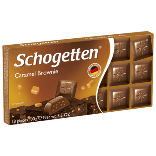 Шоколад Schogetten Caramel