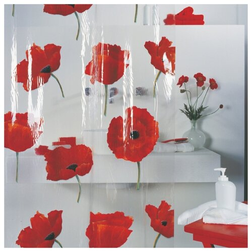 Штора для ванной Spirella Poppy