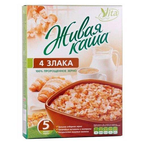 Фото - Vita Живая каша Каша 4 злака из сумка labella vita labella vita mp002xw13rke