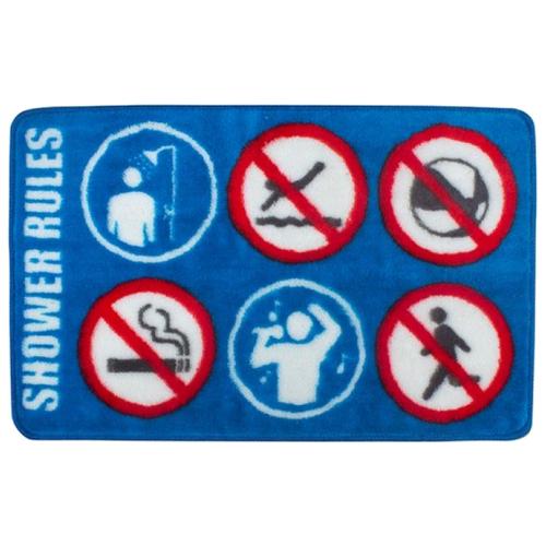 Коврик balvi Shower Rule 75x46 см