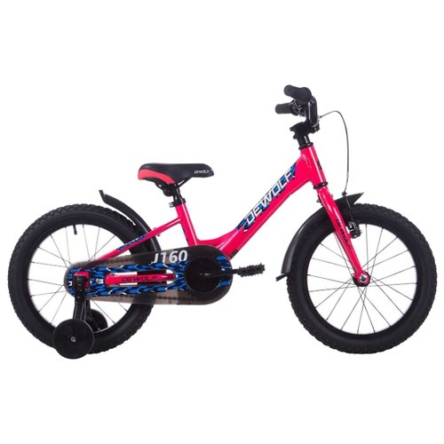 Детский велосипед Dewolf J160 велосипед dewolf gl 40 2017