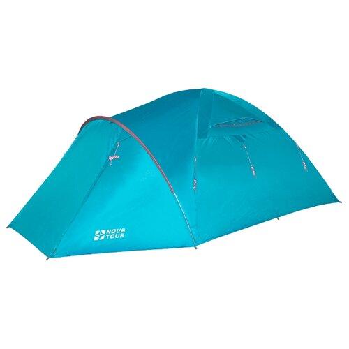 Палатка NOVA TOUR Терра 4 V2 nova tour палатка ай петри 2 v2 цвет оранжевый арт 95414