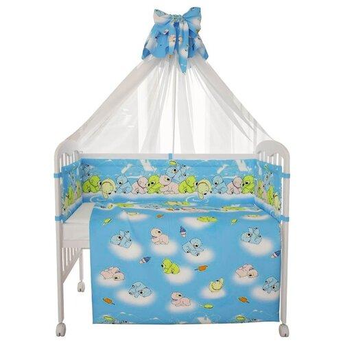 Фея комплект Мишки 7 предметов комплект белья для новорожденных фея веселая игра цвет серый 6 предметов