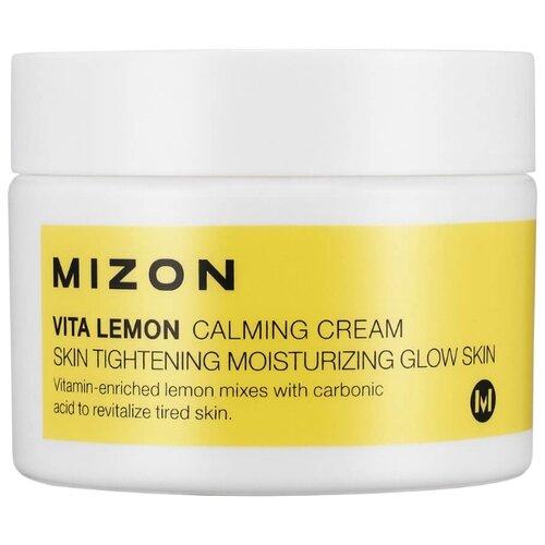 Mizon Vita lemon calming cream пилинг mizon vita lemon sparkling peeling gel объем 150 мл