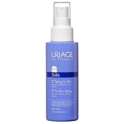 Uriage Спрей Cu-Zn+ против uriage bariederm крем цика с cu zn восстанавливающий 40 мл