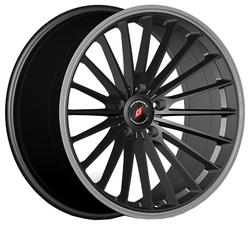 Колесный диск Inforged IFG36 8.5x19/5x112 D66.6 ET32 black machined lip