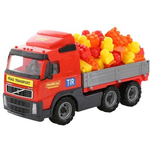 Фото - Грузовик Полесье бортовой Volvo полесье набор игрушек для песочницы 468 цвет в ассортименте
