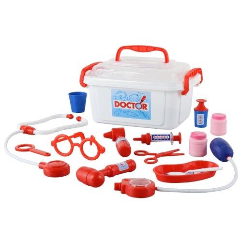 Фото - Набор доктора Полесье 53619 полесье набор игрушек для песочницы 468 цвет в ассортименте