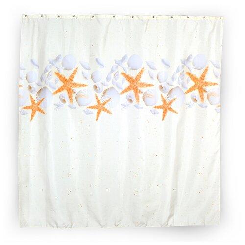 Штора для ванной Verran Stars стакан для ванной комнаты verran luma 251 25 серебристый