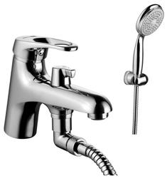 Смеситель для ванны с душем Lemark Omega LM3115C однорычажный лейка в комплекте хром