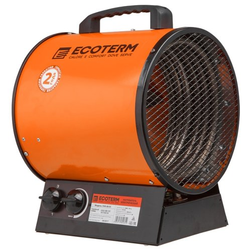 Тепловая пушка электрическая ECOTERM