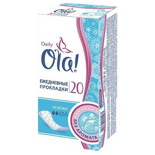 Ola! прокладки ежедневные Daily фото