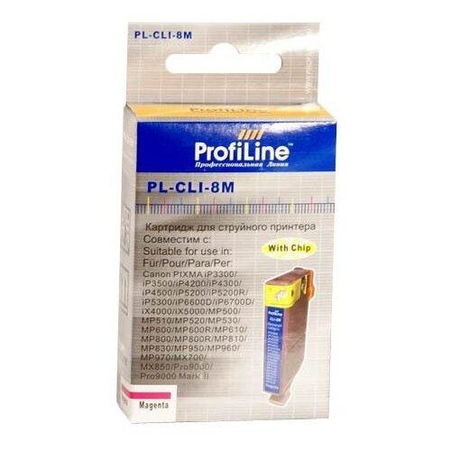 Картридж ProfiLine PL-CLI-8M-M картридж profiline pl cli 8bk bk