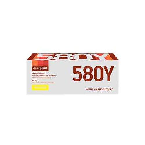 Фото - Картридж EasyPrint LK-580Y картридж easyprint lk 895k черный для лазерного принтера