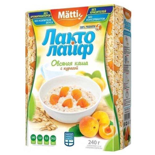 Matti Каша Лактолайф с курагой