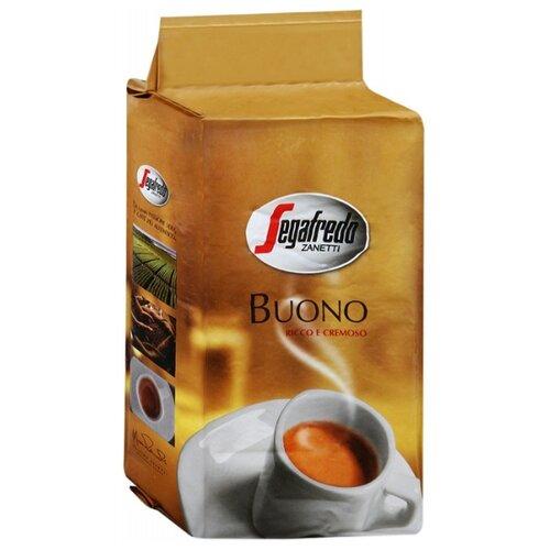 Фото - Кофе молотый Segafredo BUONO segafredo intermezzo кофейный набор кофе молотый 250 г термокружка 400 мл