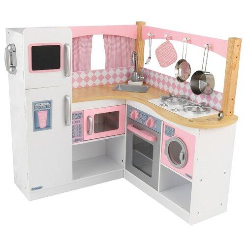 Кухня KidKraft Изысканный kidkraft большая детская игровая кухня делюкс