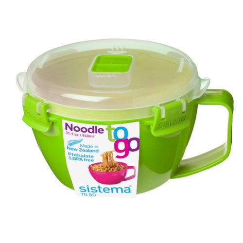 Sistema Кружка для лапши TO GO контейнер для продуктов sistema to go triple split 2л blue 20920