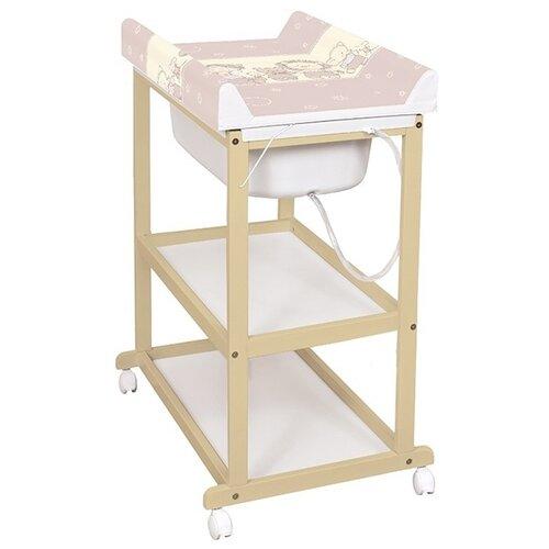 Пеленальный столик Ceba Baby подушка для кормления ceba baby physio mini grey cats трикотаж w 702 700 513
