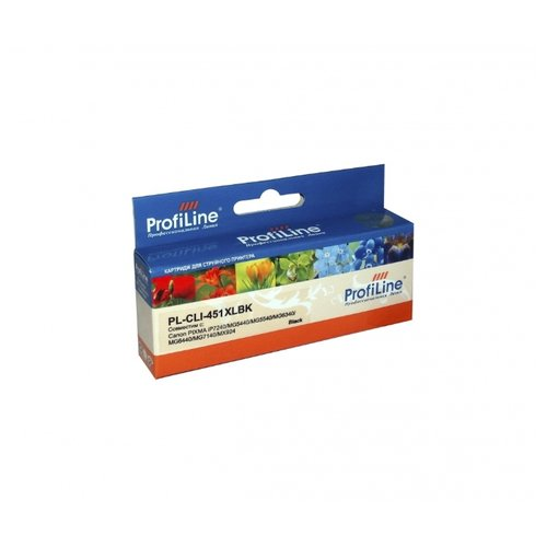 Картридж ProfiLine PL-CLI-451 картридж profiline pl cli 8bk bk