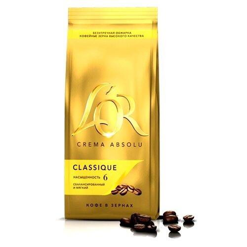 Кофе в зернах L'OR Crema Absolu