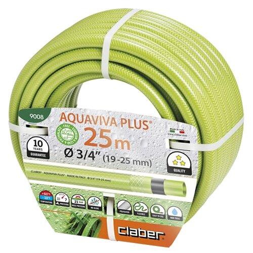 Шланг Claber Aquaviva Plus 3 4 claber aquaviva 1 2 15m 9003