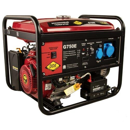 Бензиновый генератор DDE G750E